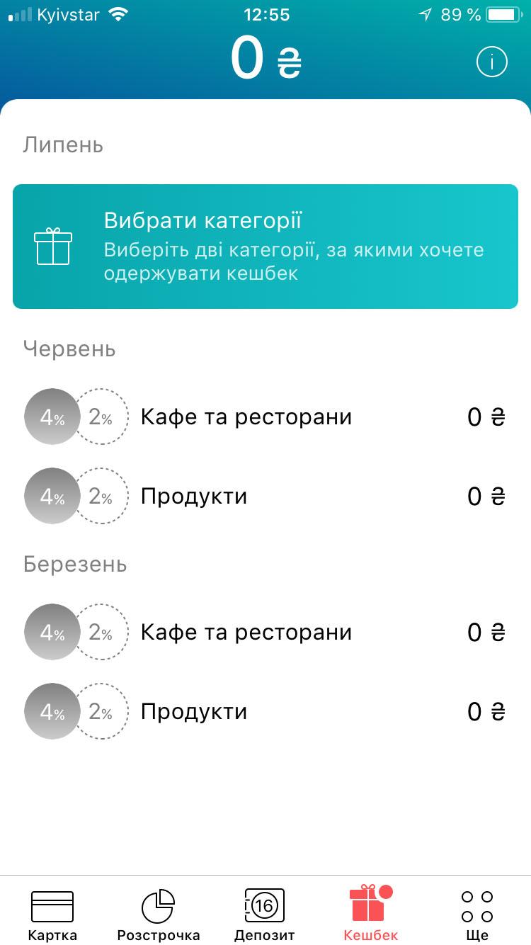 Кешбек Монобанк