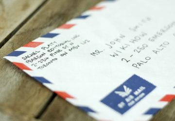 Поштова адреса англійською