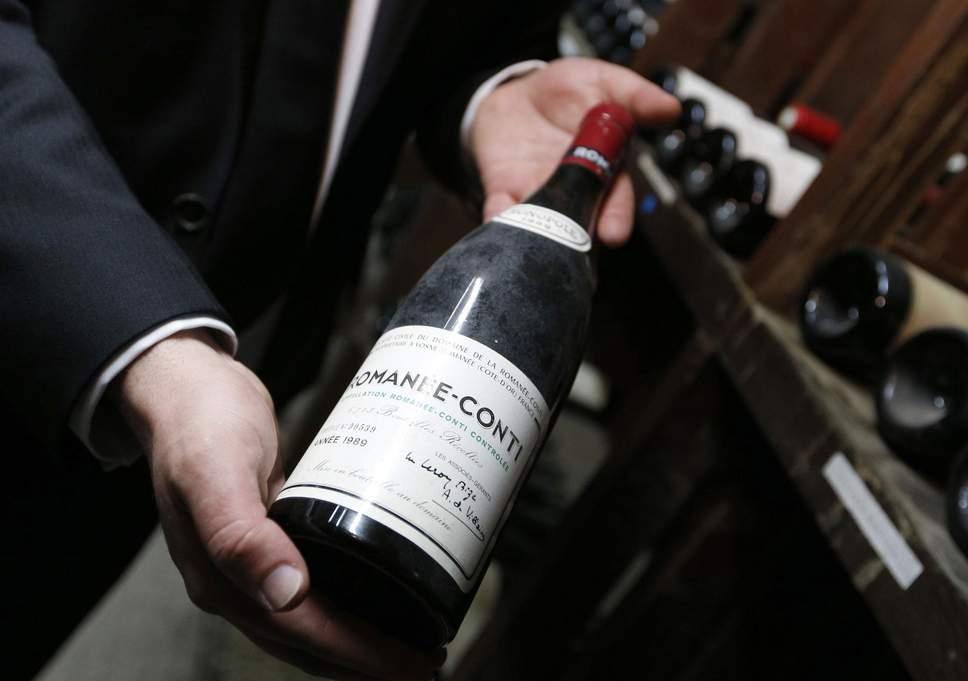 Дорогі колекційні вина на аукціонах