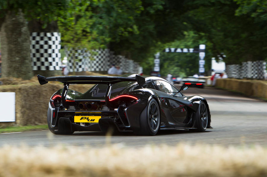 McLaren P1 LM фото