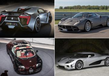 Найдорожчі машини світу