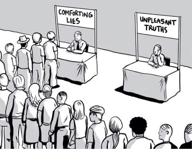 Самообман в суспільстві