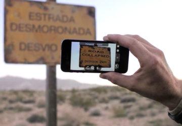 Переклад з допомогою камери смартфона