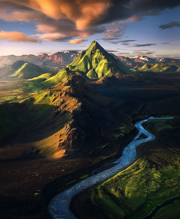 Вулканічні гори в Ісландії