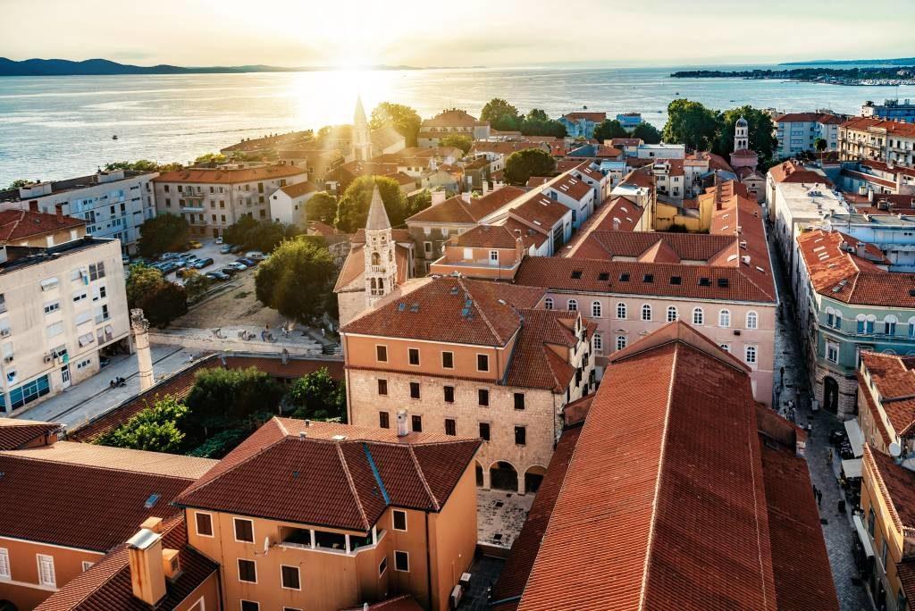 Місто Задар у Хорватії