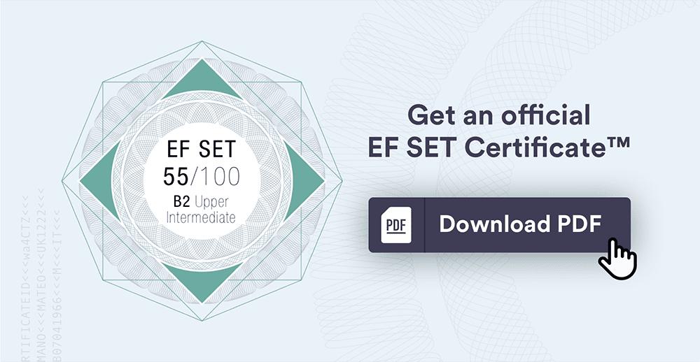 EF Standard English Test