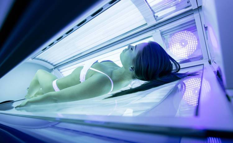 Ультрафіолет в солярії
