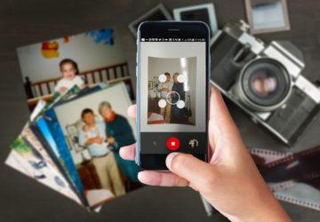 Сканування фотографії через Google PhotoScan
