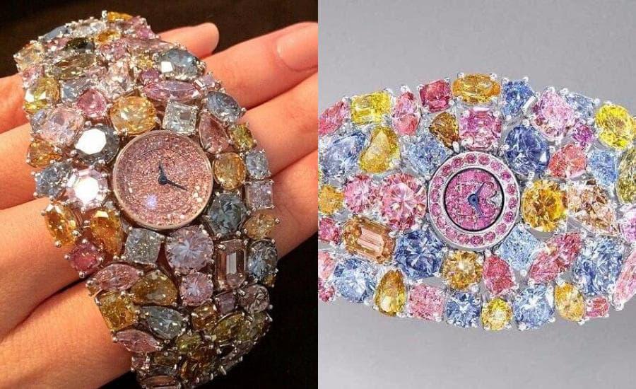 Годинник Graff Diamonds Hallucination фото