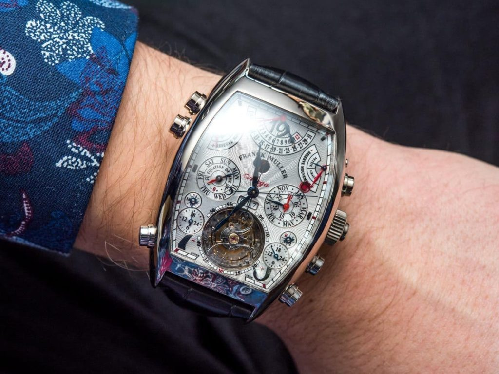 Franck Muller Aeternitas Mega 4 годинник