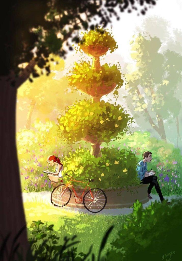 Ілюстрації Yaoyao Ma Van As