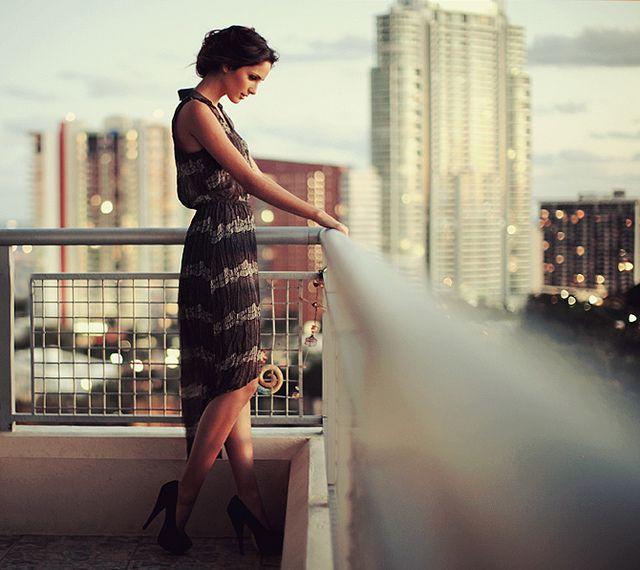 Ідея фотосесії на балконі