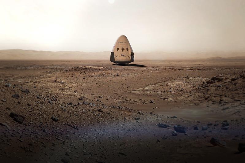 Crew Dragon на Марсі