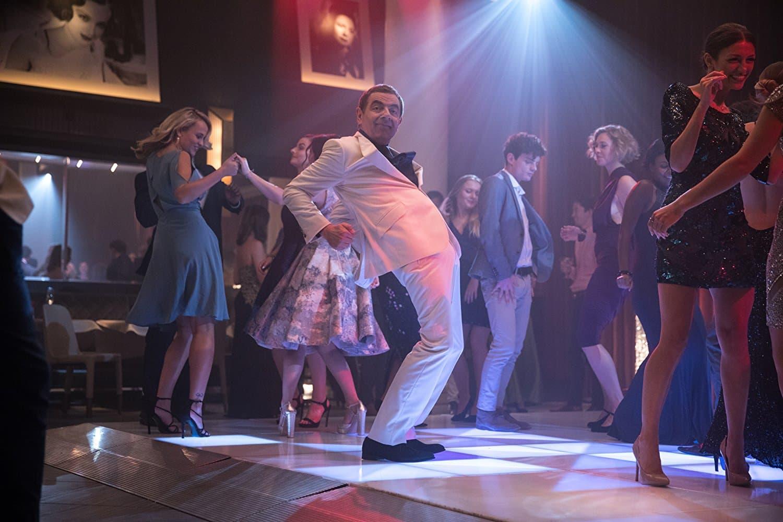 Роуен Аткінс на танцполі