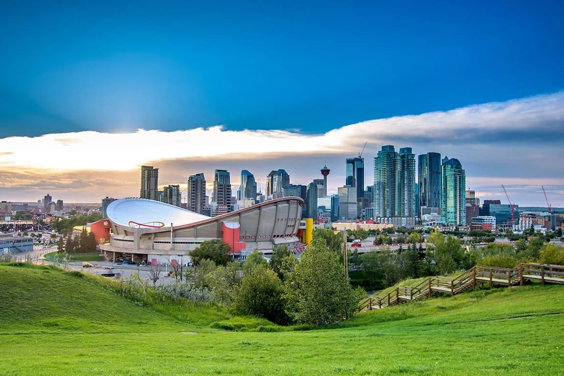 Місто Калгарі в Канаді
