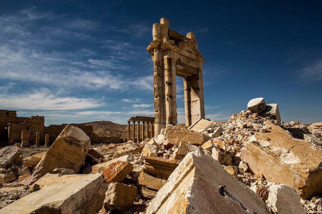 Історичні памятки зруйновані війнами