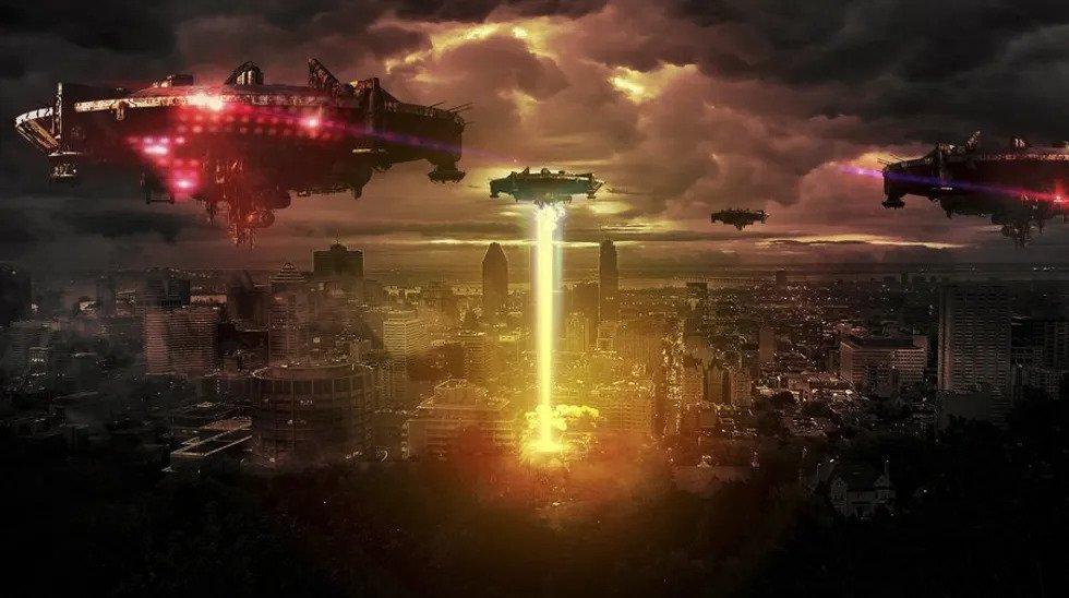 Ворожі інопланетяни атакують Землю