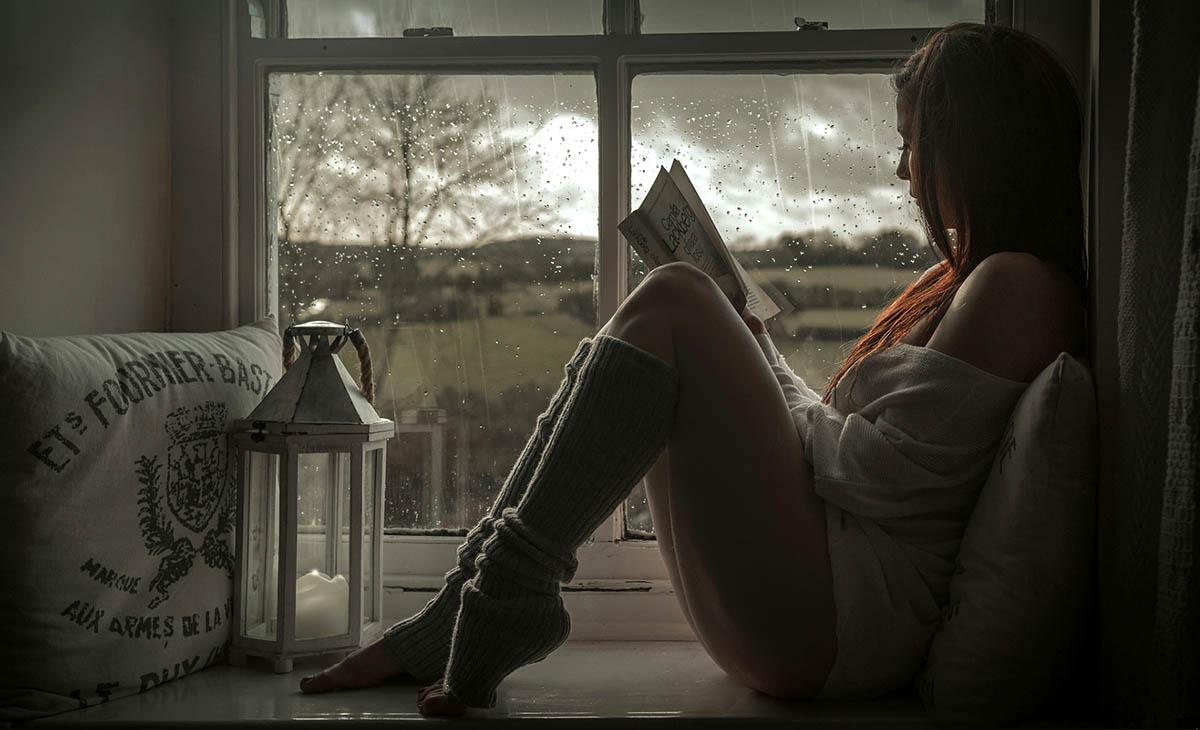 Почитати книжку, коли за вікном дощ
