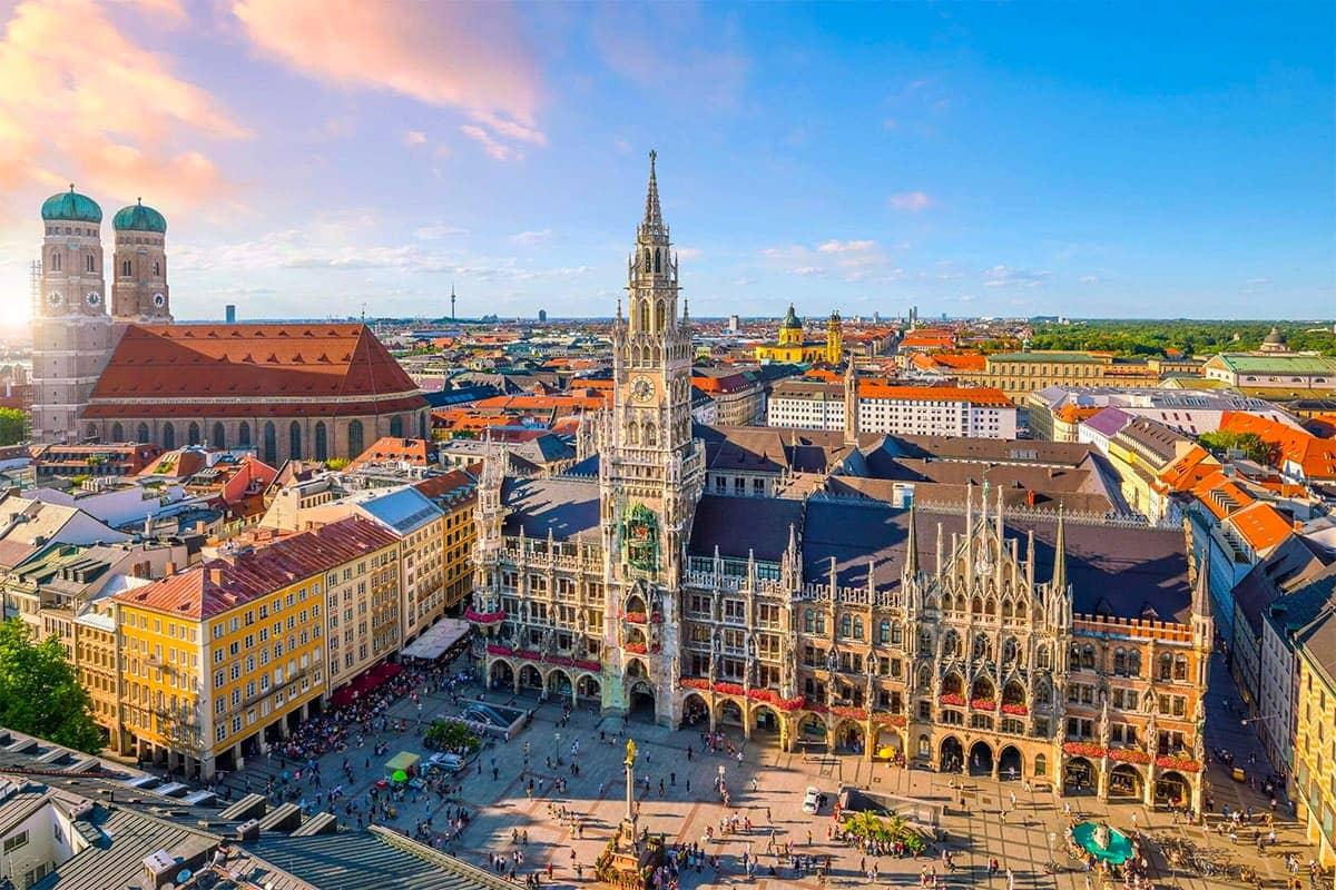 Місто Мюнхен у Німеччині
