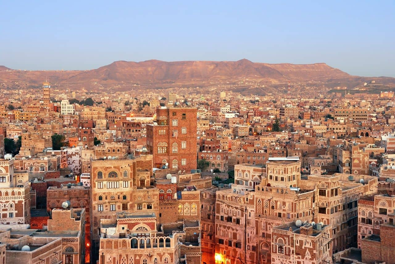 Місто Сана, Ємен