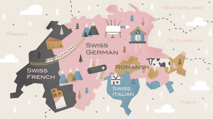 Офіційні мови у Швейцарії