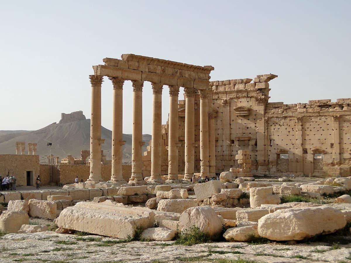 Храм Баала в Сирії