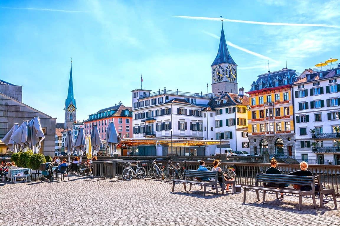 Цюріх - столиця Швейцарії