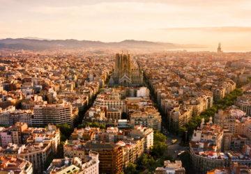 Барселона з висоти пташиного польоту