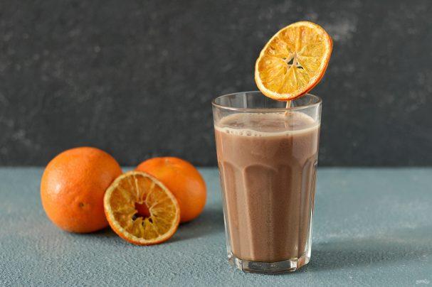 Какао з апельсиновим соком