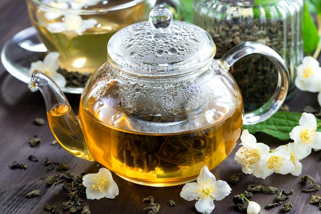 Зелений чай з жасмином