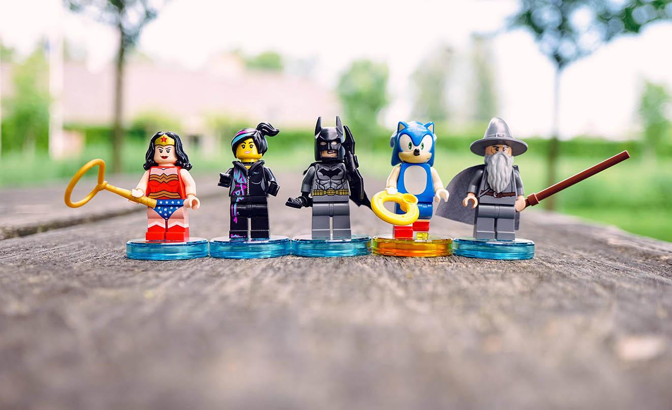 Фігурки Lego