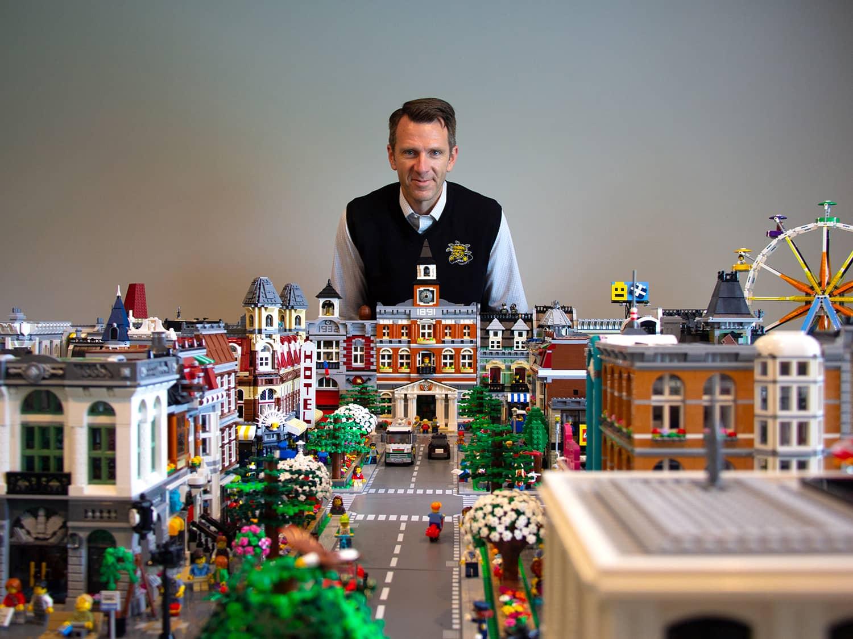 Іграшкове місто з конструктора Lego