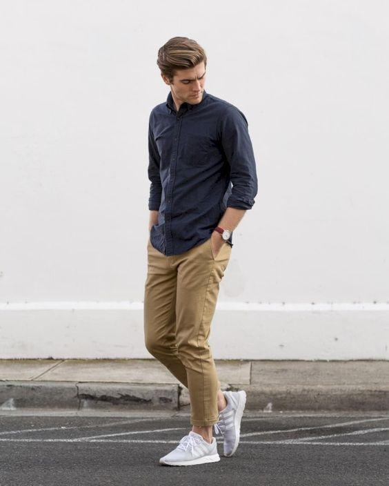 Чоловічі штани чінос