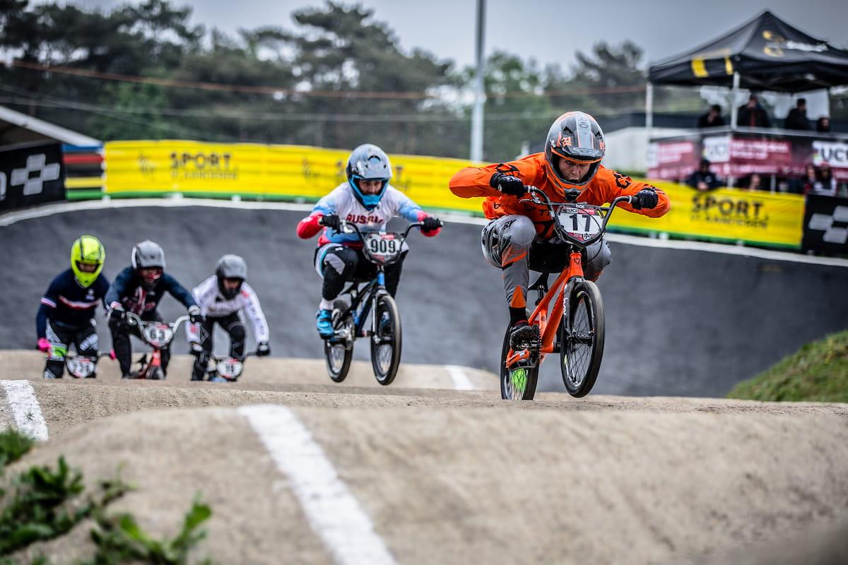 Змагання на BMX