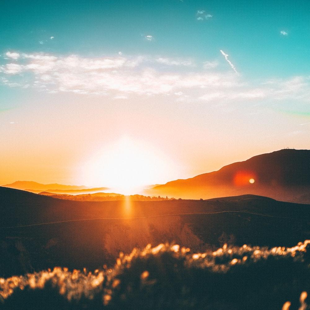 Красиво заходить сонце