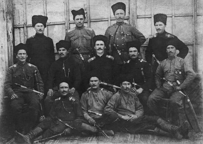 Козацькі отамани Кубанської народної республіки