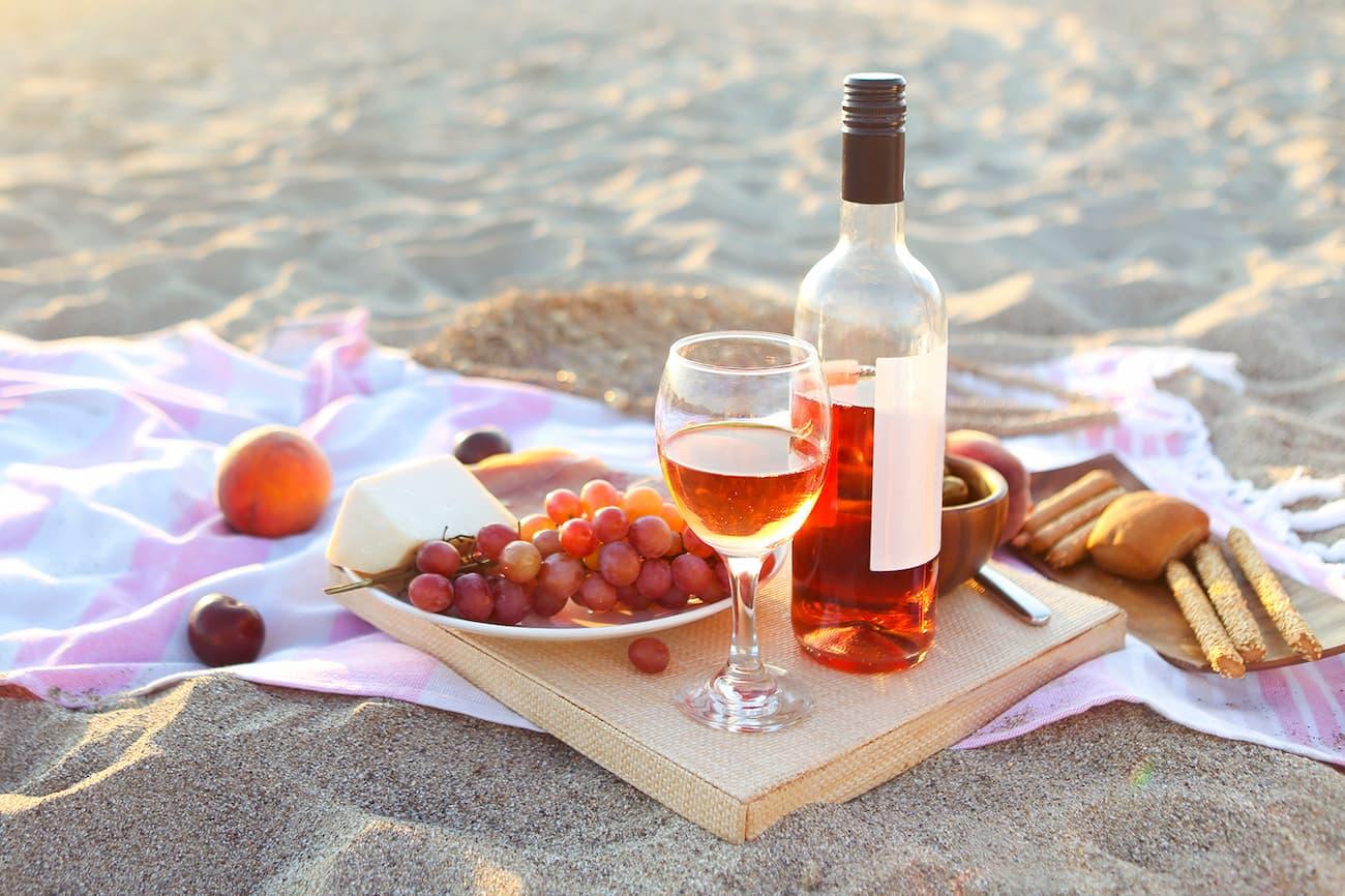 З чим пити Рожеве вино