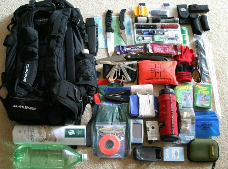 Вміст тривожного рюкзака (екстреної валізи)