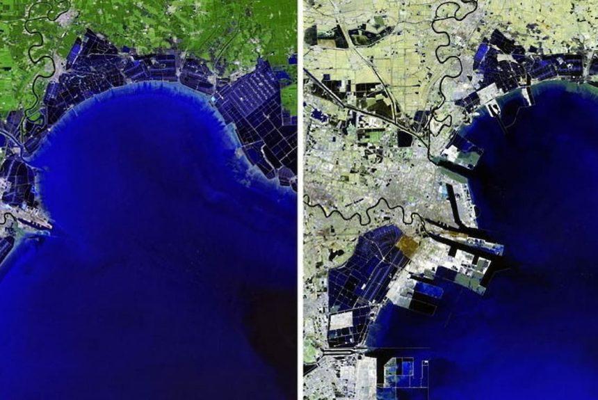 Фото Землі зі супутника NASA