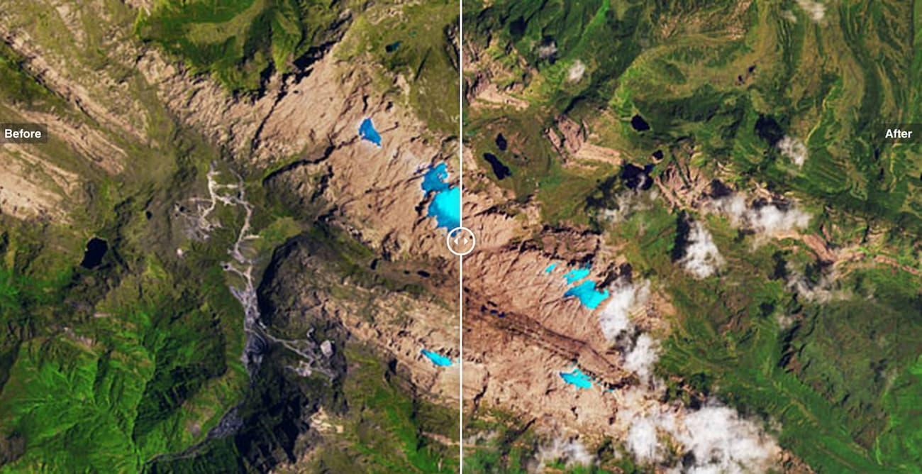 Льодовики у Новій Гвінеї