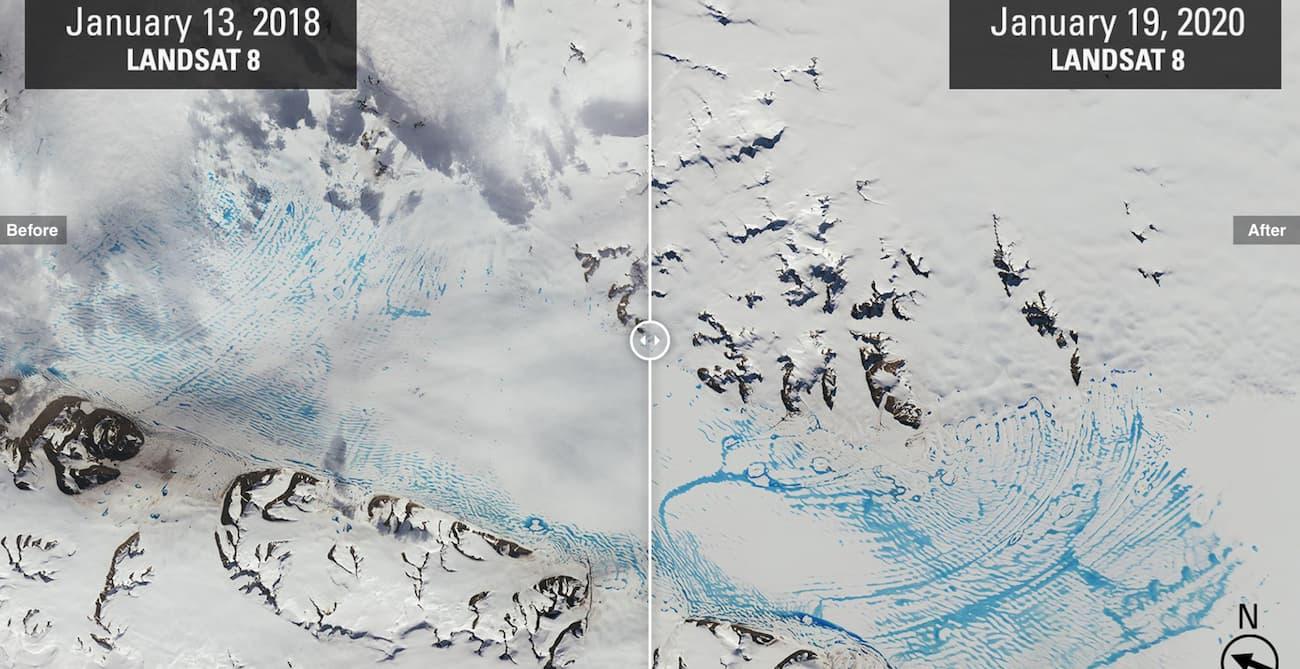 Льодовики в Антарктиді