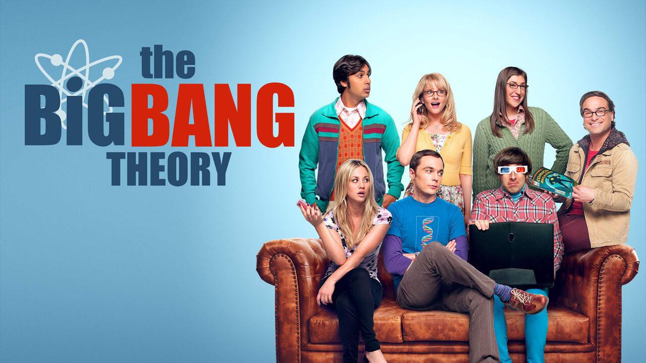 Серіал «Теорія великого вибуху» (Big Bang Theory) англійською