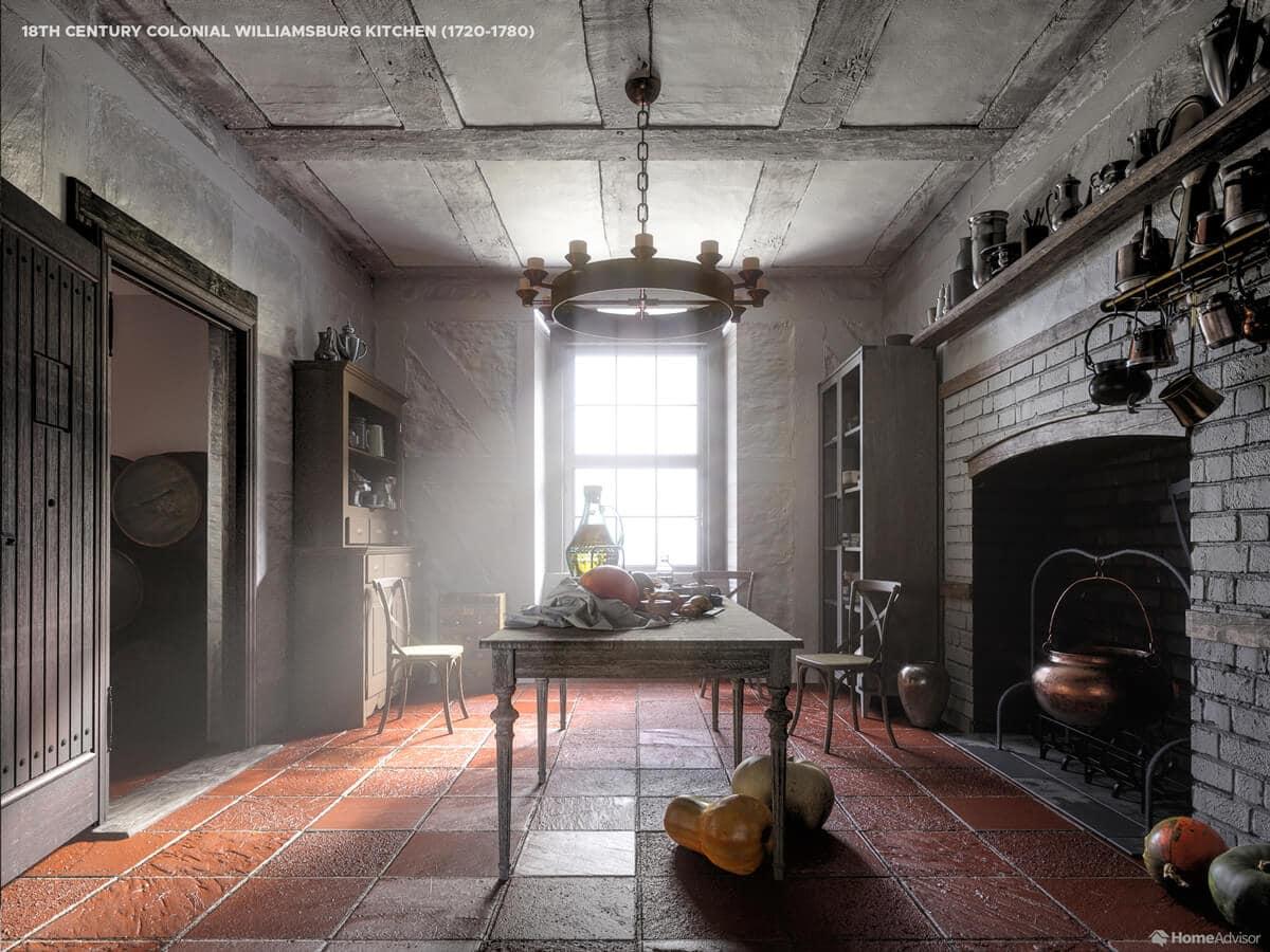 Кухня 18 століття