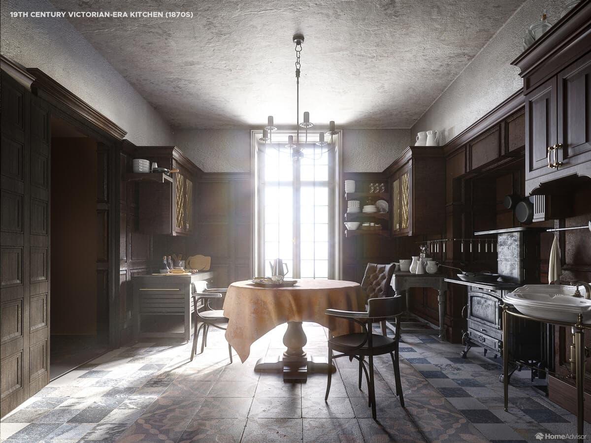 Кухня Вікторіанської епохи