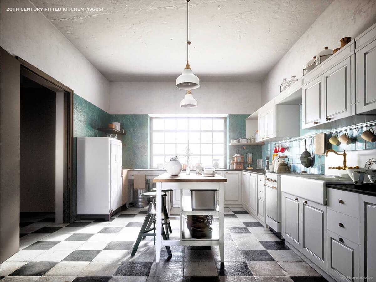 Як виглядала кухня в 1960-х