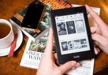 Електронна читалка Amazon Kindle