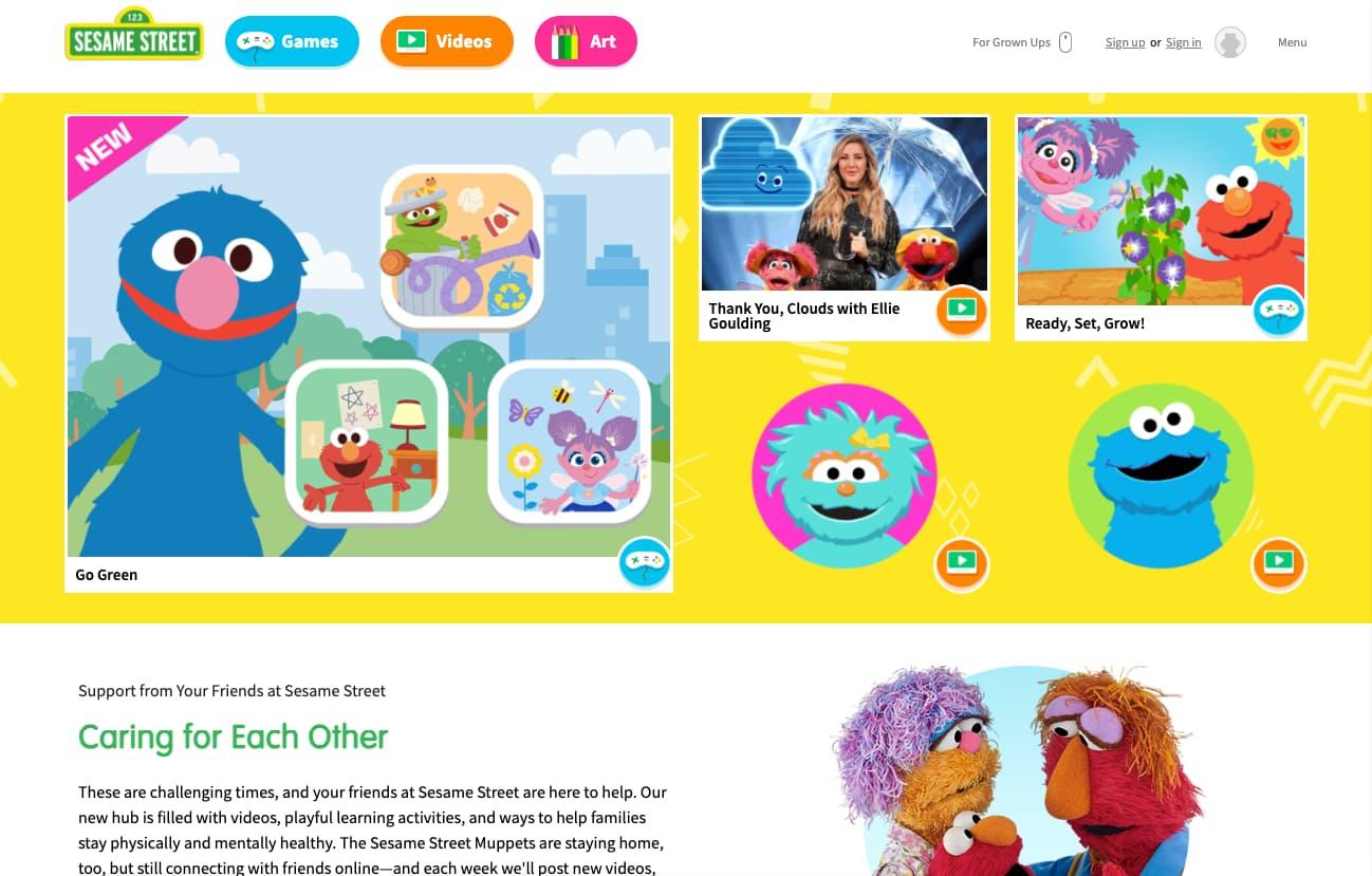 Sesame Street for Kids
