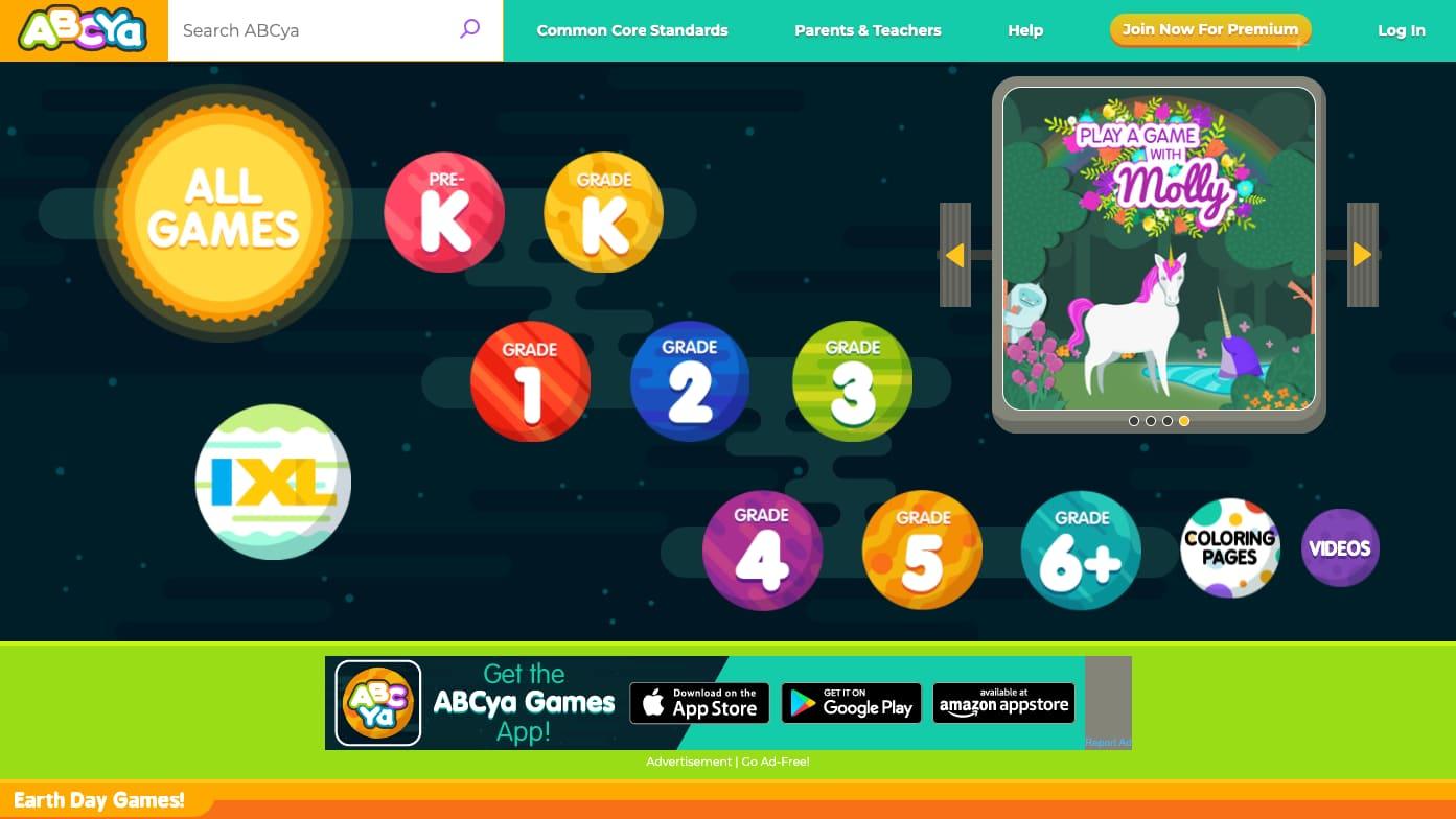 ABCya! - англійська для дітей