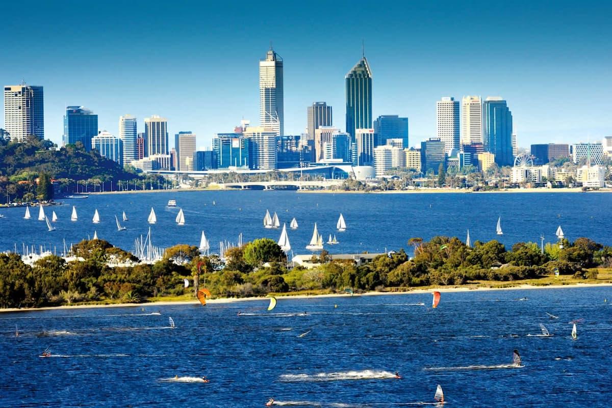Місто Перт в Австралії