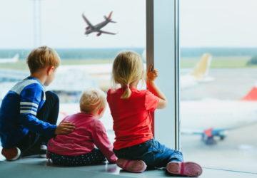 Подорож в літаку з дітьми